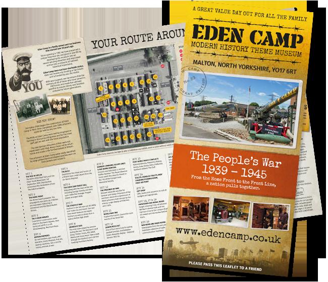 Eden Camp Leaflet