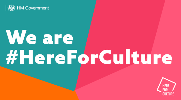 We're #HereForCulture - Awarded by the Culture Recovery Fund