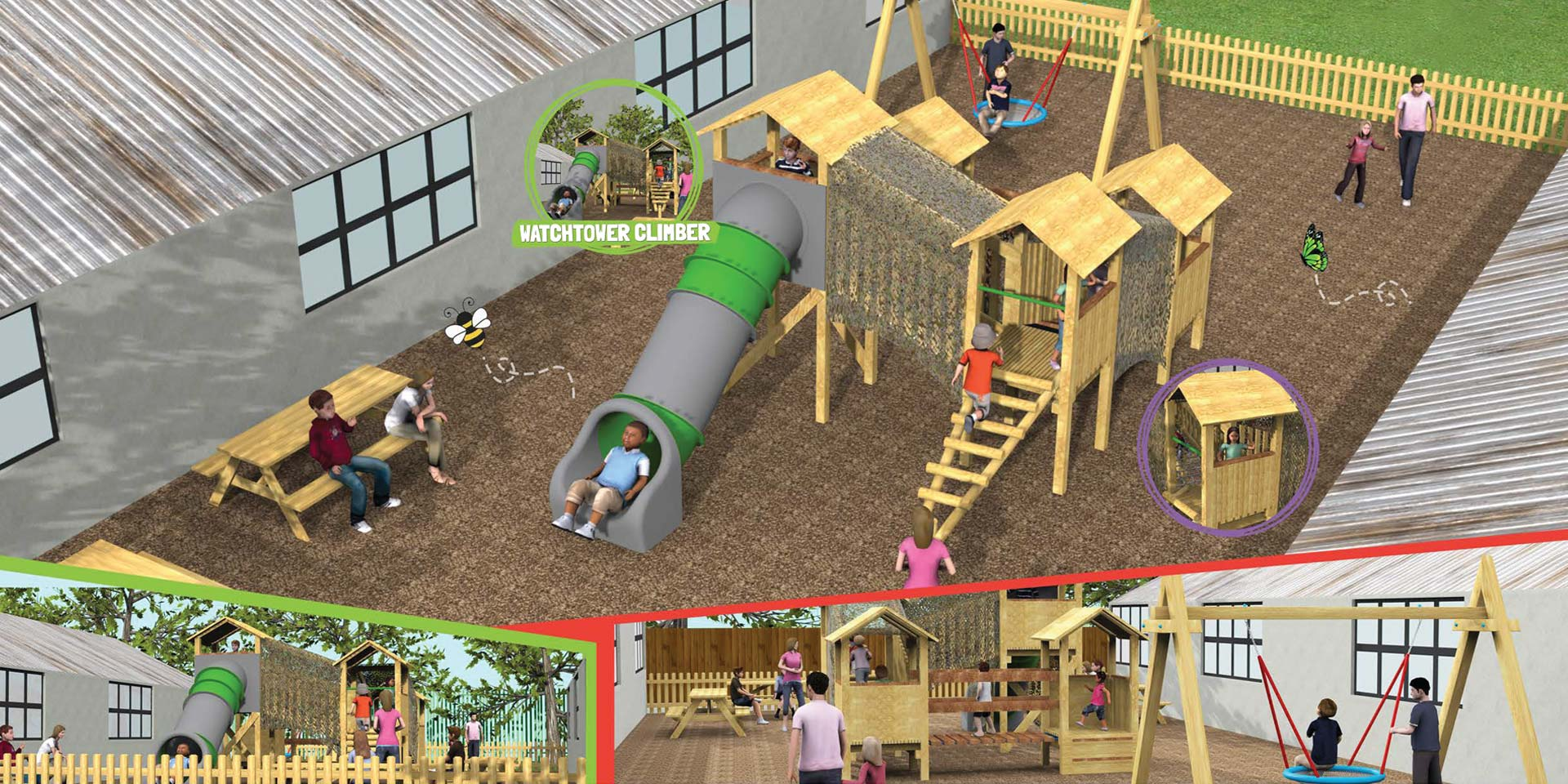 Brand New Junior Play Area