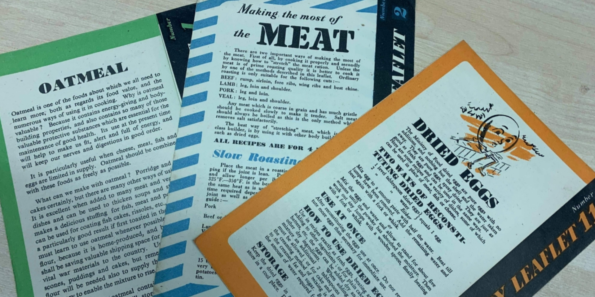 #Forgotten Friday: Ministry of Food Leaflets