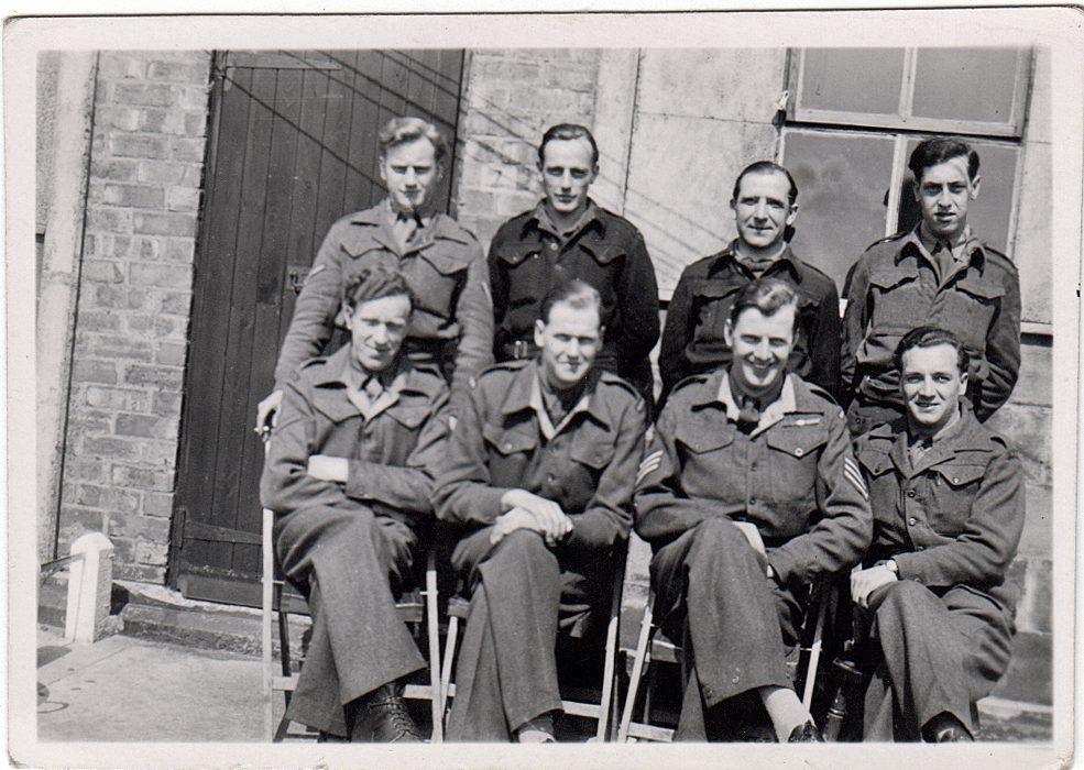 Eden Camp British Office Staff 8029