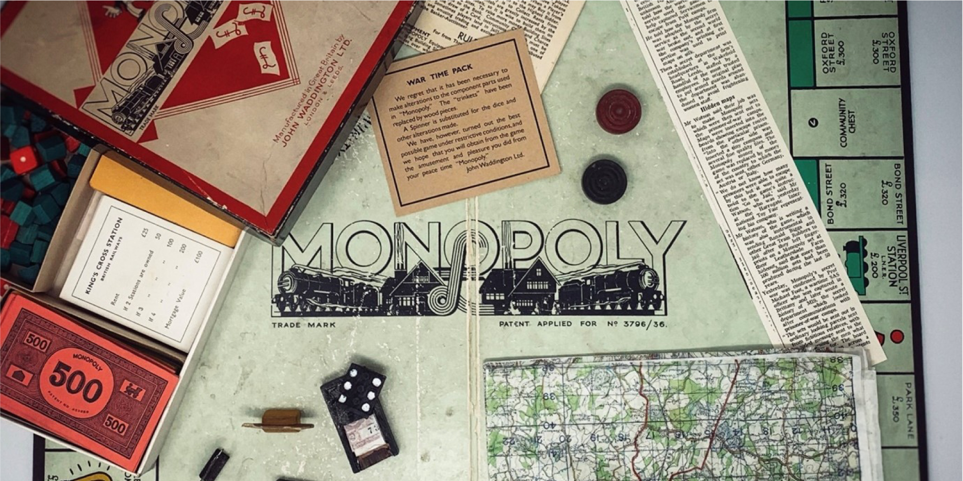 #ForgottenFriday – POW Monopoly Game