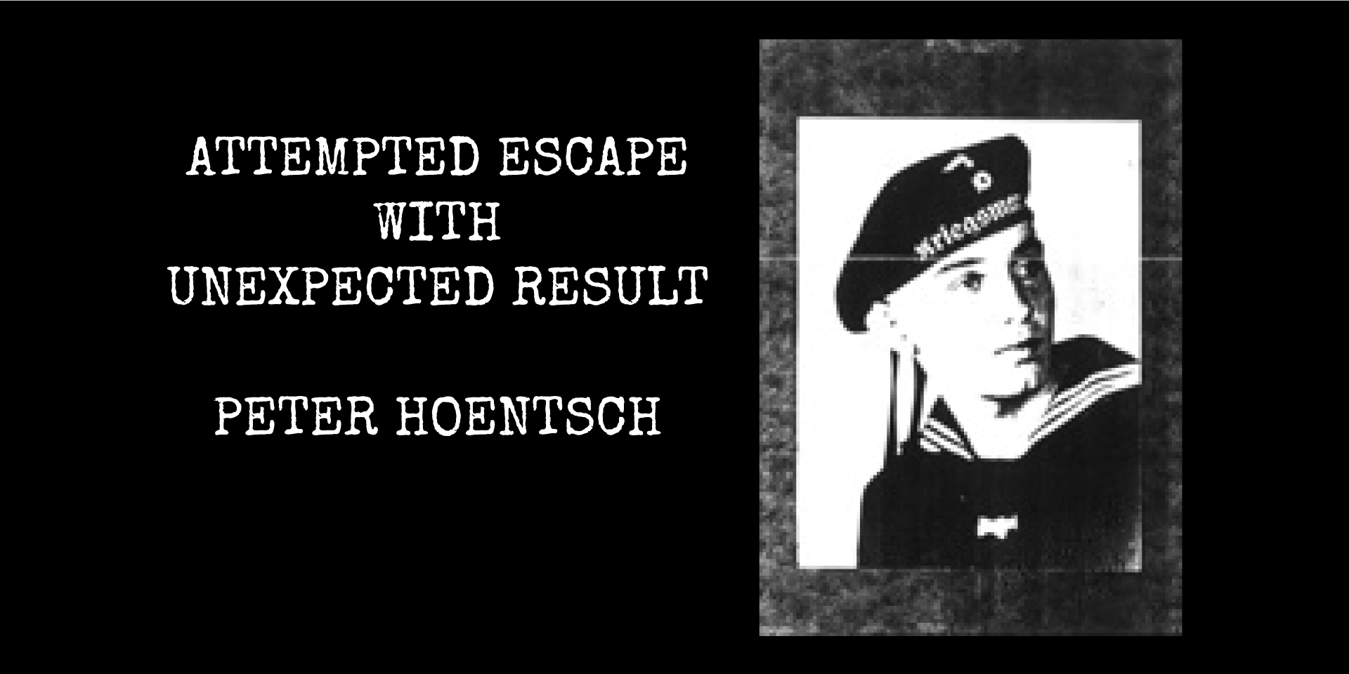#ForgottenFriday: Share A Story with Peter Hoentsch