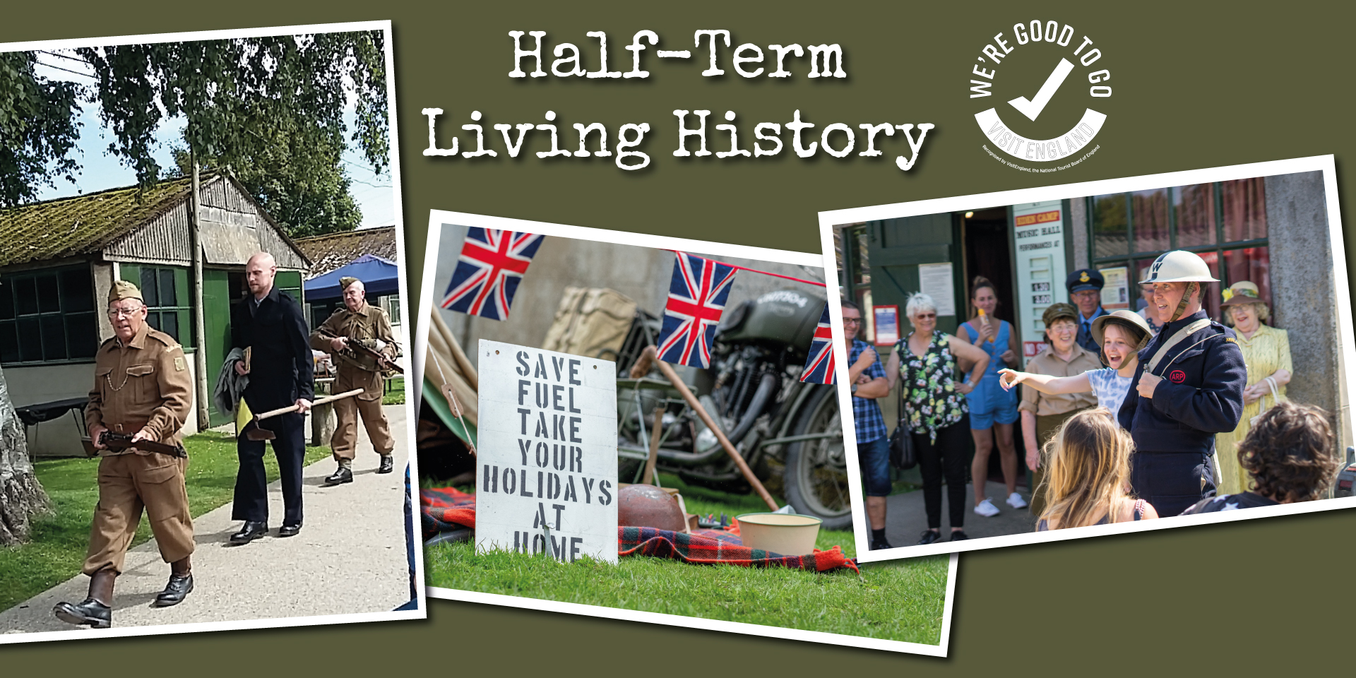Half Term Living History!