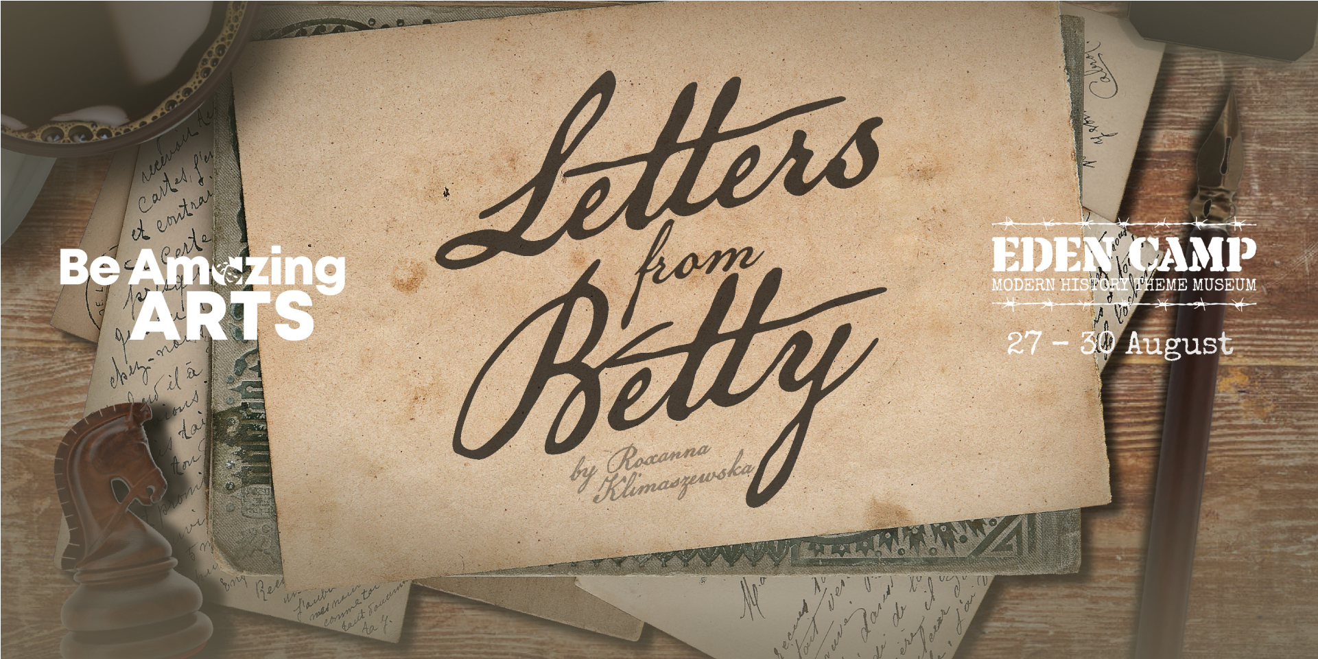Be Amazing Arts presents 'Letters From Betty'