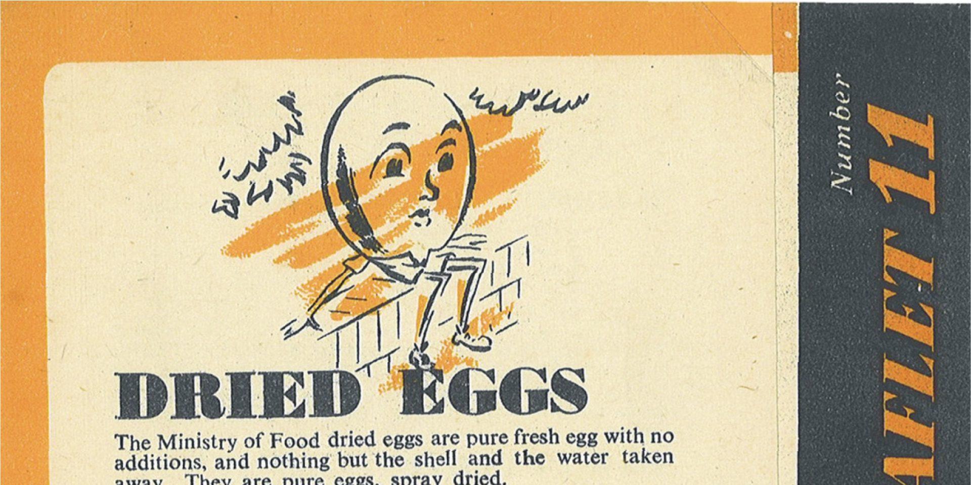 #ForgottenFriday – Dried Eggs