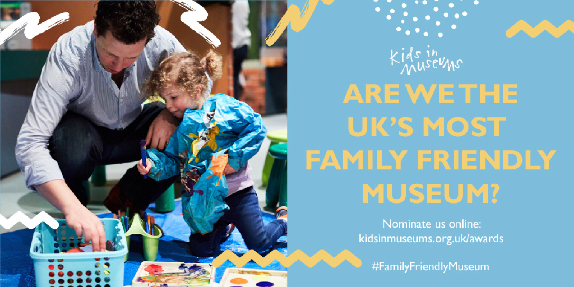 Nominate us for the Family Friendly Museum Award!