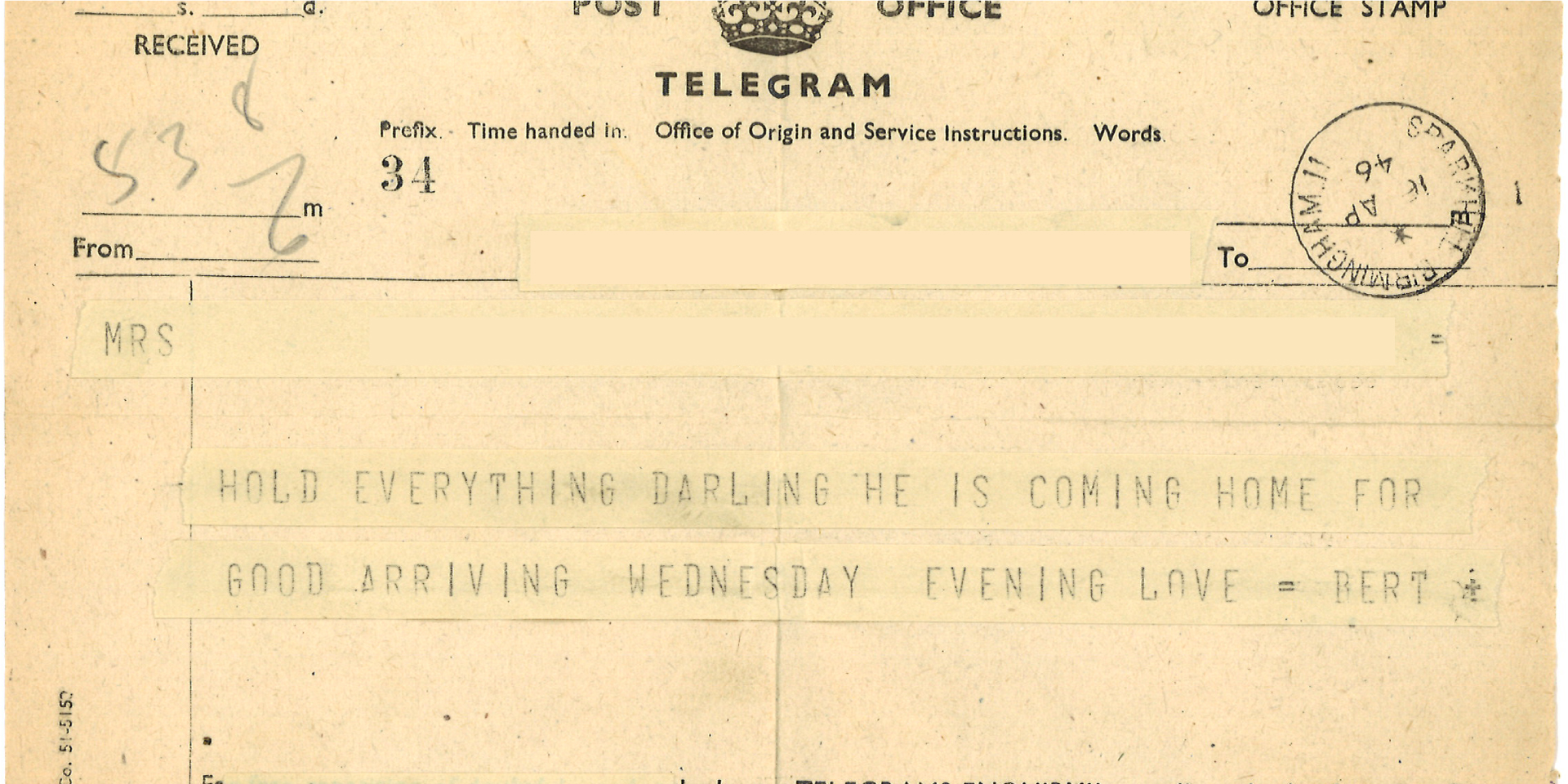 #ForgottenFriday – Wartime Love Letters